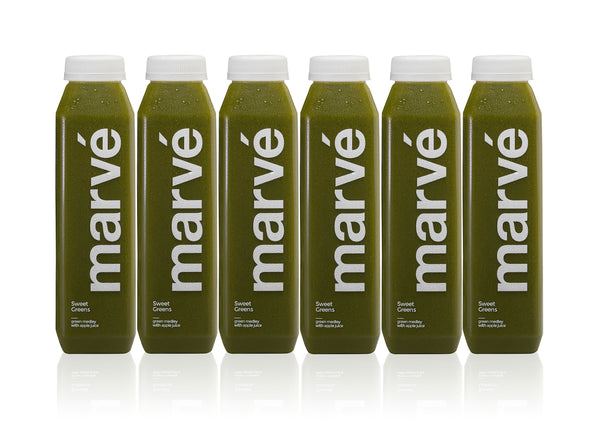 marve sweet green cold press juice