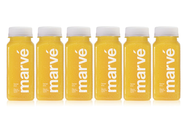 marvé renew shot Tumeric wellness shot