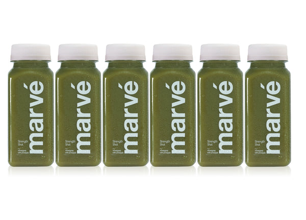 marve wheatgrass shot wellness shot