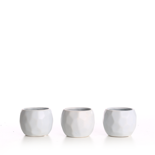 Geometric MiniPots (Pack of 3)