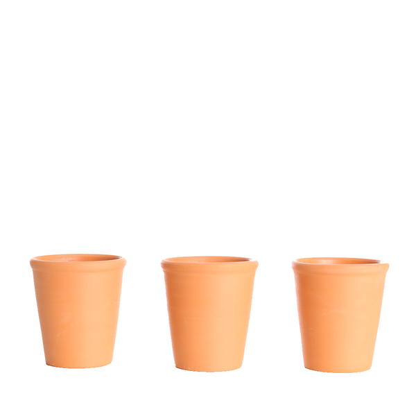 Terracotta Pots (Pack of 3)
