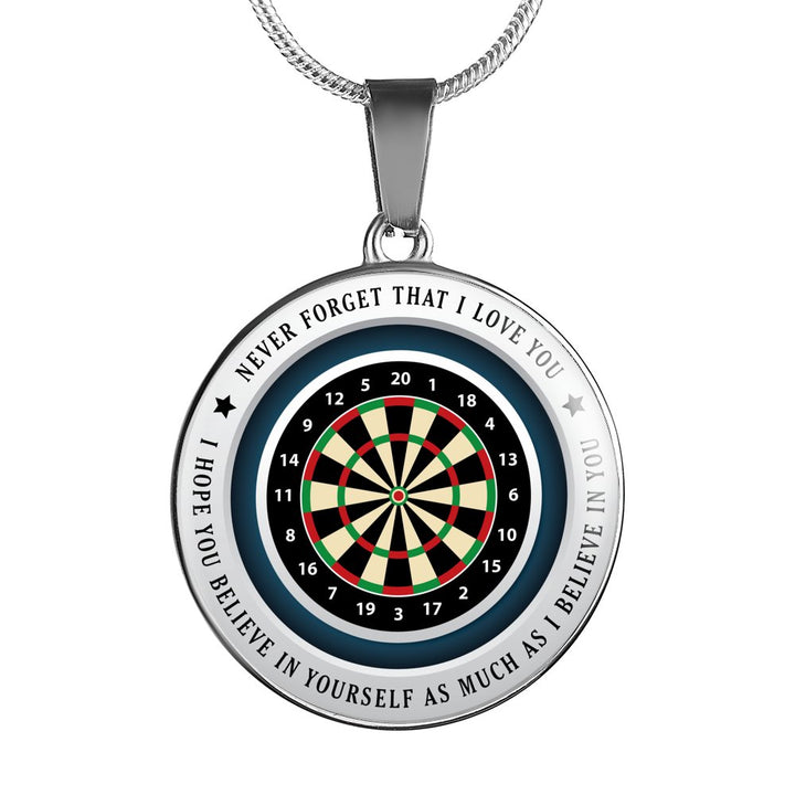 Believe in Yourself (Dart) Necklace