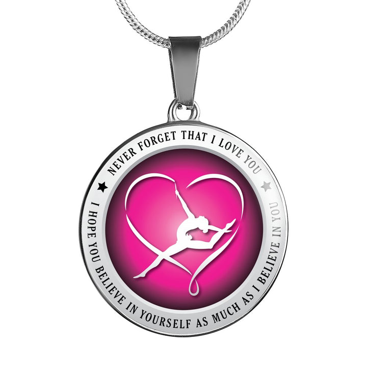 Believe In Yourself (Gymnastics) Necklace