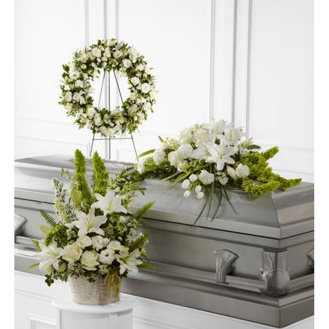 White Funeral Package