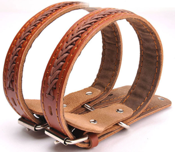 Leather Collar for Medium and Large Dogs