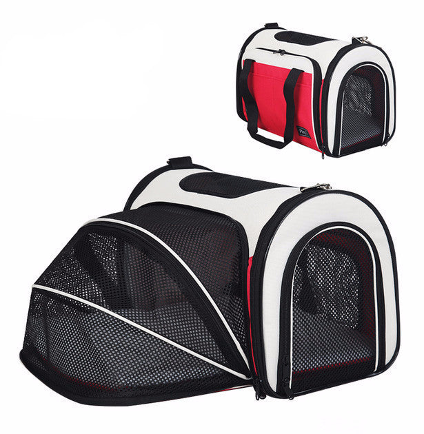 Pet Carrier Bag and Bed