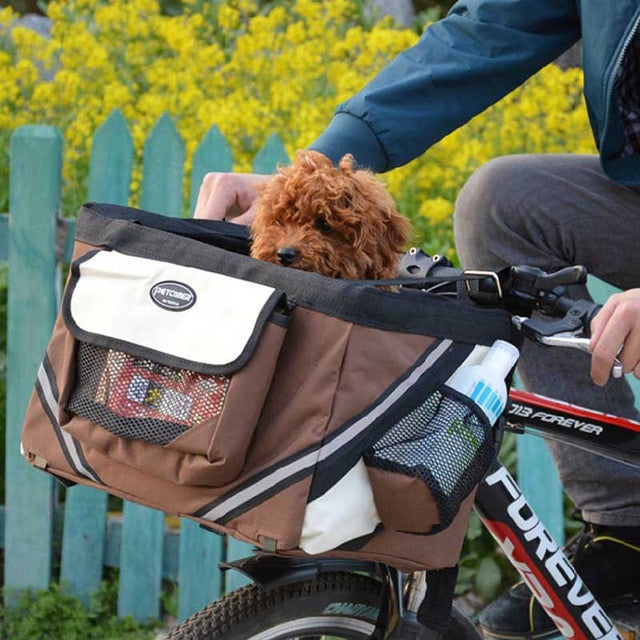 Pet Bicycle Carrier Basket