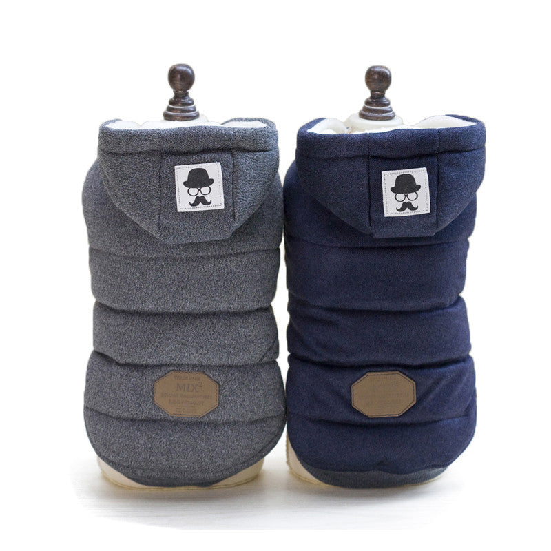 Winter Hooded Jacket for Dogs or Cats