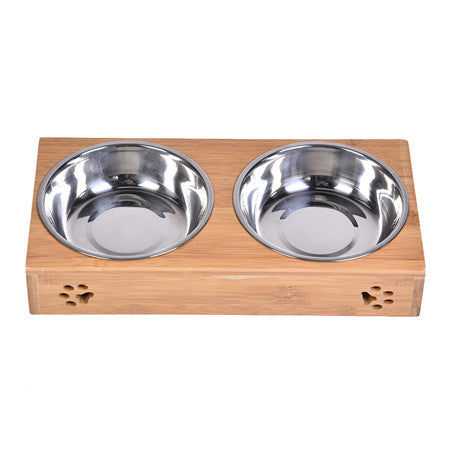 Double Bamboo Bowl