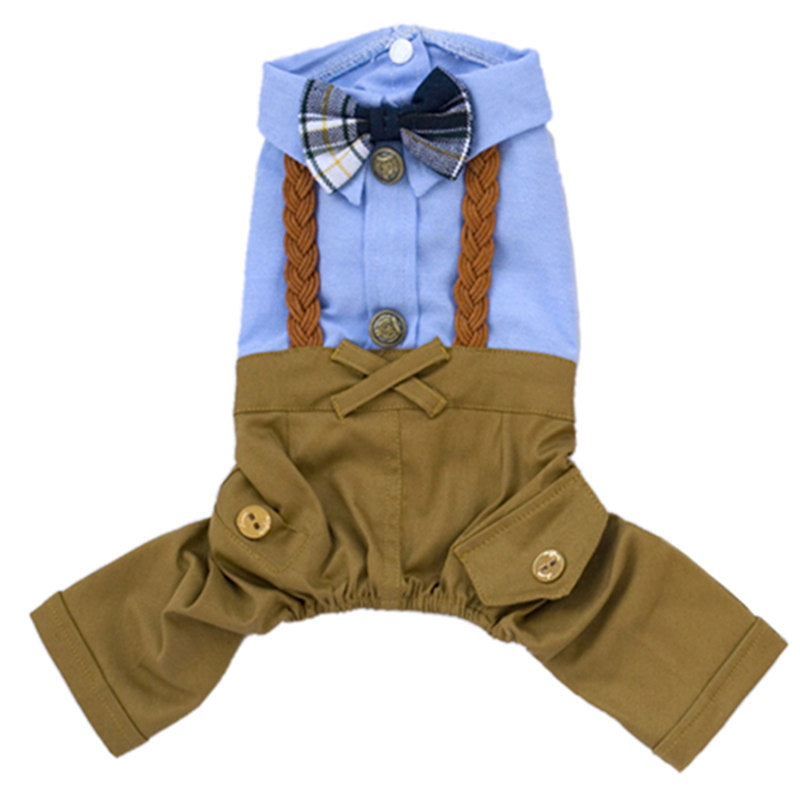 Shirt with Bow and Trousers Onesie