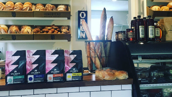 Epic North teams up with Homestead Artisan Bakery and Cafe