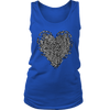Reassembled Heart + Womens Tank