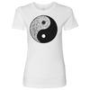 Ying Yang 001 + Ladies T-Shirt