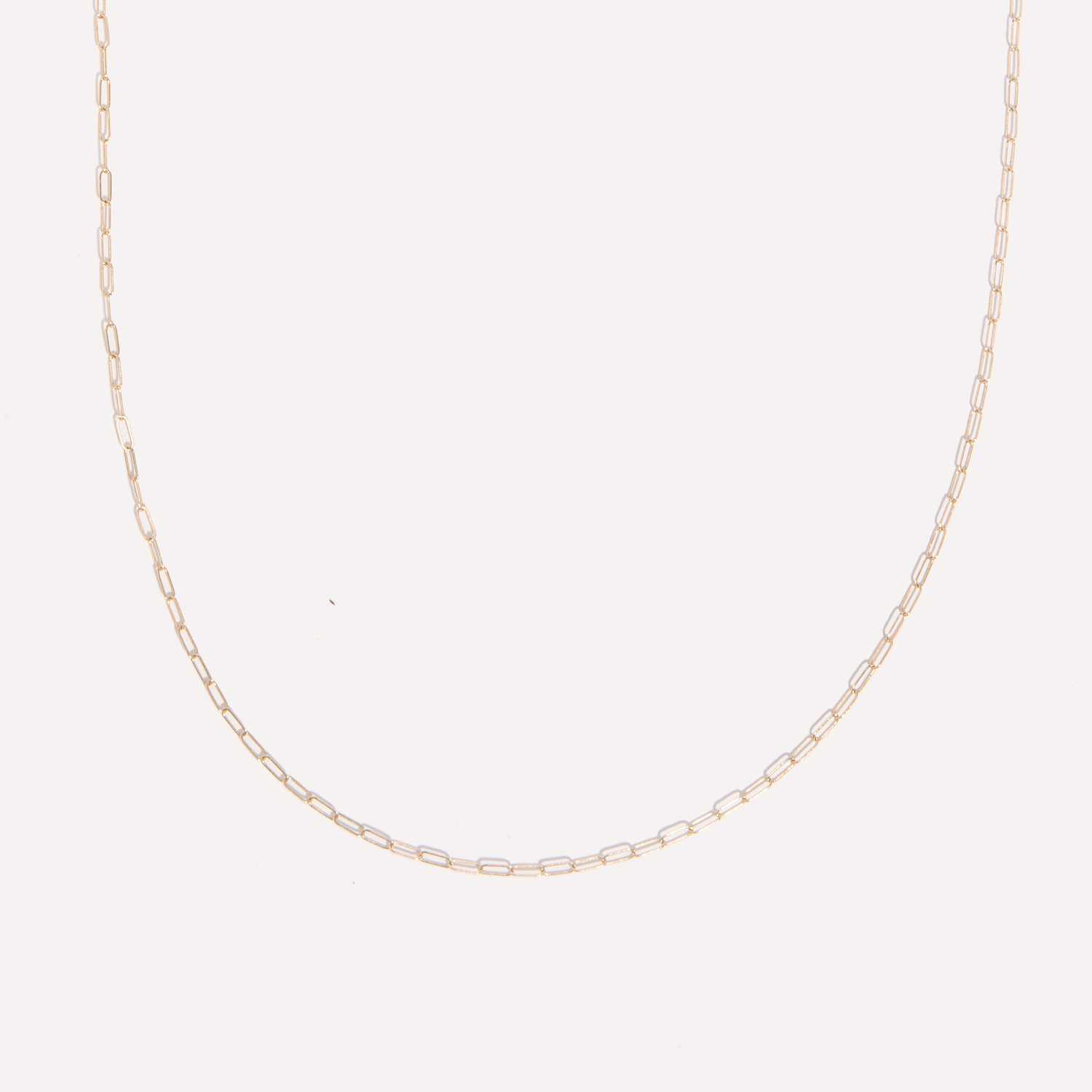 callie chain in 14k gold.