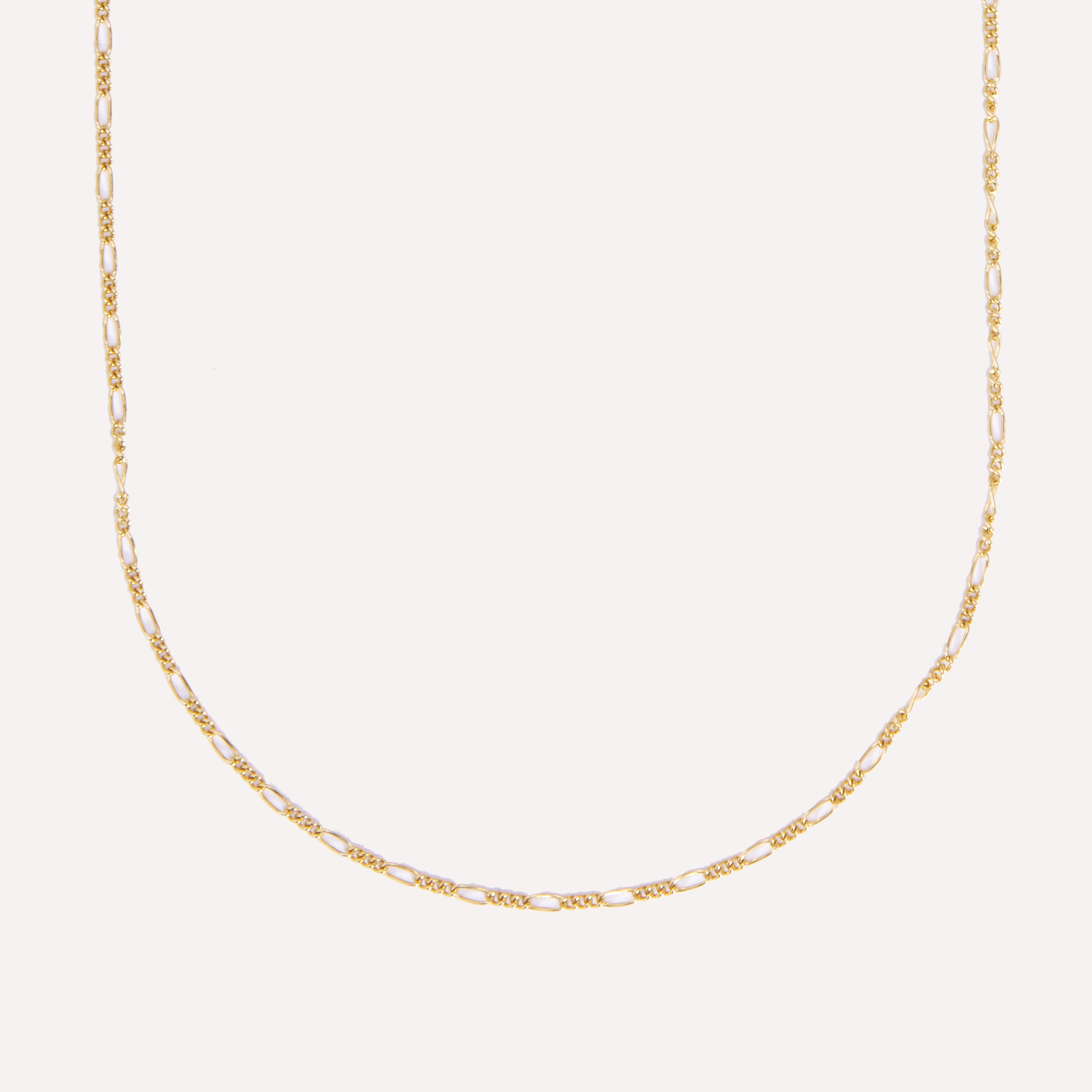 elyse chain in 14k gold.
