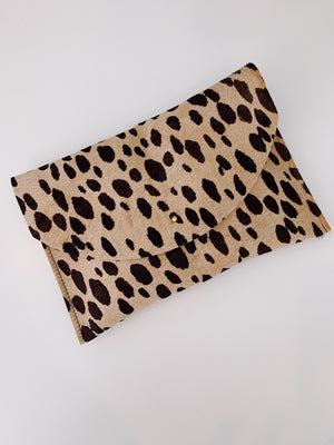big cat envelope clutch