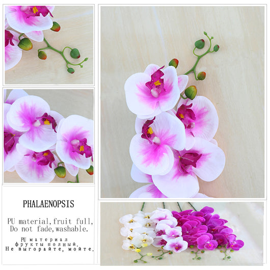 ... Fashion Orchid Artificial Flowers DIY Wedding Home Decoration ...