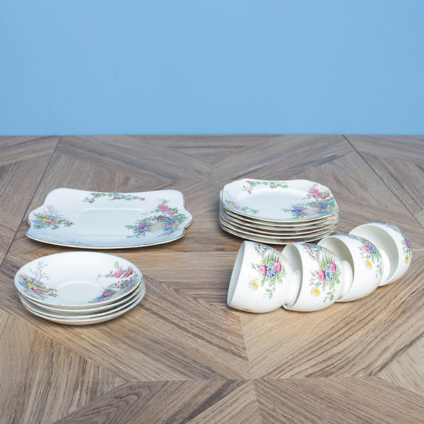 Set in Porcellana Heathcote China