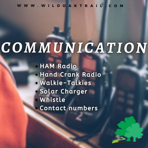 Picture of walkie talkies for communication