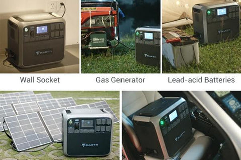 Photo of Flexible 5-way charging of Bluetti - AC200P 2000Wh/2000W Portable Power Station