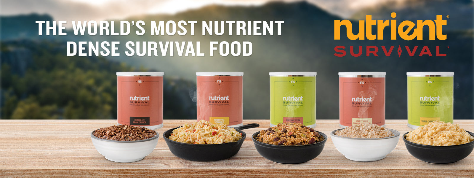 Nutrient Survival - Most dense Survival Food