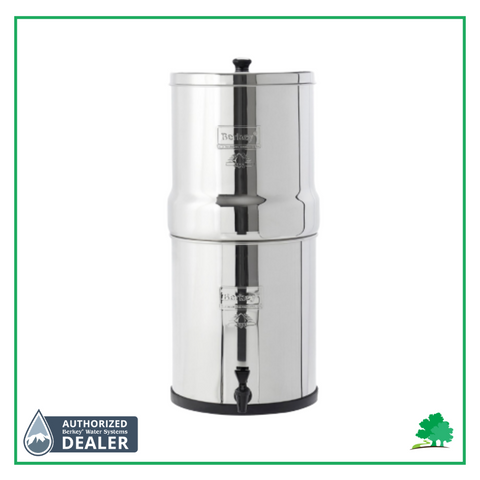 Picture of Royal Berkey with Wild Oak Trail and Authorized Berkey Dealer Logo on it. - Water Filtration