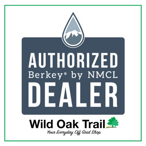 Picture of a logo for Authorized Berkey Dealer - Water Filtration