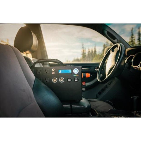 Picture of Inergy Apex in a car