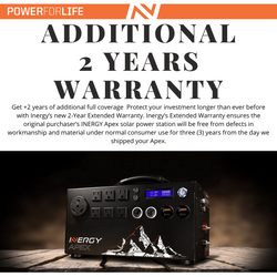 +2 Years Extended Warranty by Inergy