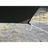 Kodiak Canvas - Super-6 Tarp wth Pole Set-Tent-Kodiak Canvas-Wild Oak Trail
