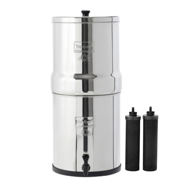 ROYAL BERKEY®  3.25 GAL WITH 2 OR 4 BLACK ELEMENTS