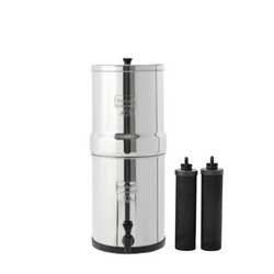 Travel Berkey® System (1.5 gal) With 2 Black Elements