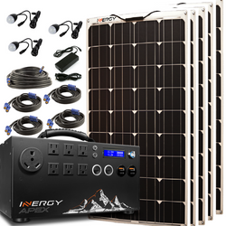 Inergy Apex Gold Package Linx Panels Solar Generator-Inergy-Wild Oak Trail