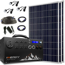 Inergy Apex Silver Package Solar Storm Panels-Inergy-Wild Oak Trail