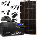 Inergy Apex Solar Generator Bronze Package Linx Panels-Inergy-Wild Oak Trail