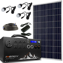 Inergy Apex Solar Generator Bronze Package Solar Storm Panels-Inergy-Wild Oak Trail