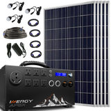 Inergy Apex Solar Storm Panels Gold Package Solar Generator-Inergy-Wild Oak Trail