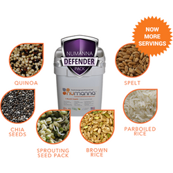 Numanna Defender Pack With Meat. Freeze Dried Food Storage-Numanna-Wild Oak Trail