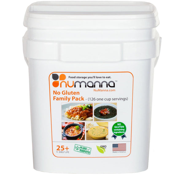 Numanna Family Pack - Gluten Free Freeze Dried Food‎-Numanna-Wild Oak Trail