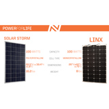 Inergy Apex Solar Generator Bronze Package Solar Storm Panels