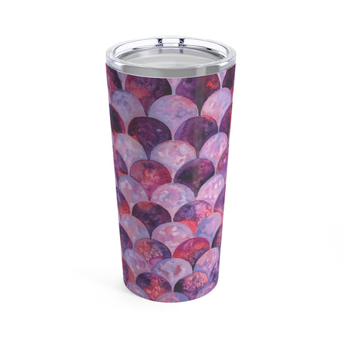 Mermaid Pattern Feminine Tumbler 20oz