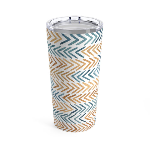 African Arrow Pattern Tumbler 20oz