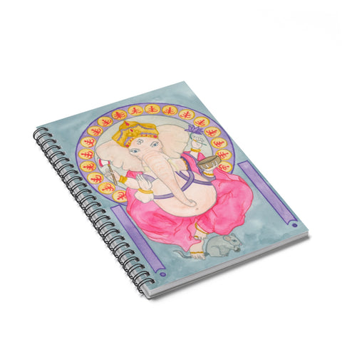 Ganesha Spiral Journal - Ruled Line