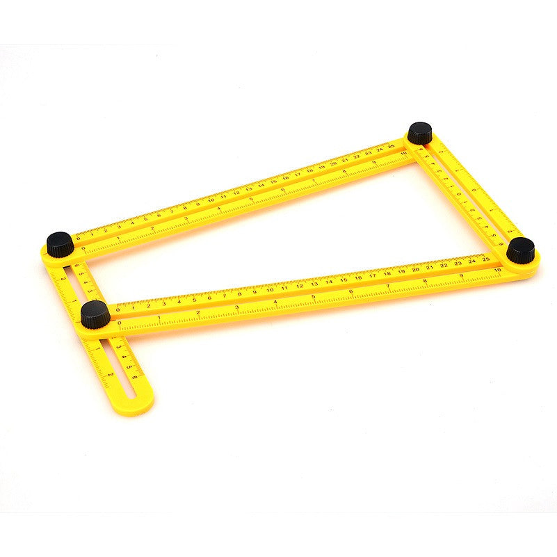 Angle Ruler Easy Angle-izer Template Tool Measuring Four Sided Multi Angle izer