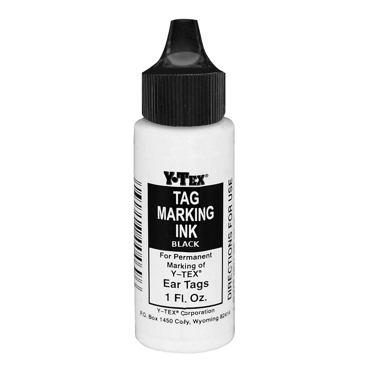 Y-Tex tag marking ink 1 fluid oz (Black)