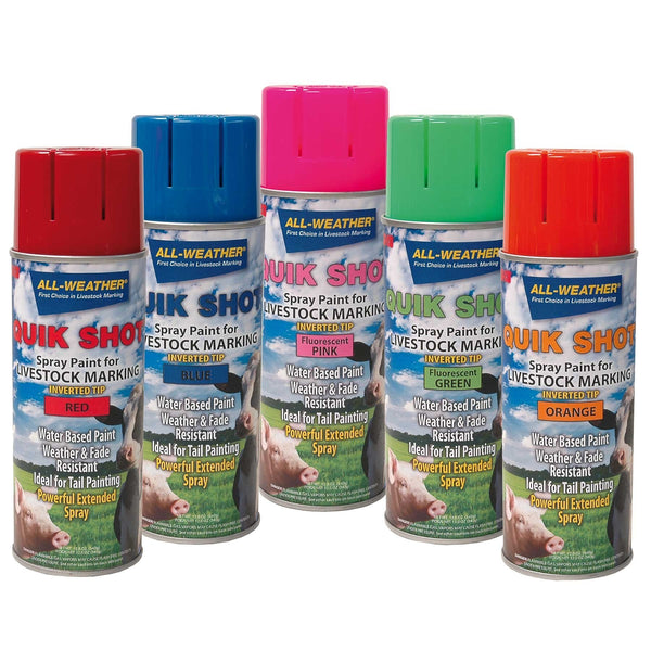 Laco Quik Shot Inverted Tip 16Oz (Various Colours) - Animal Marking Laco - Canada