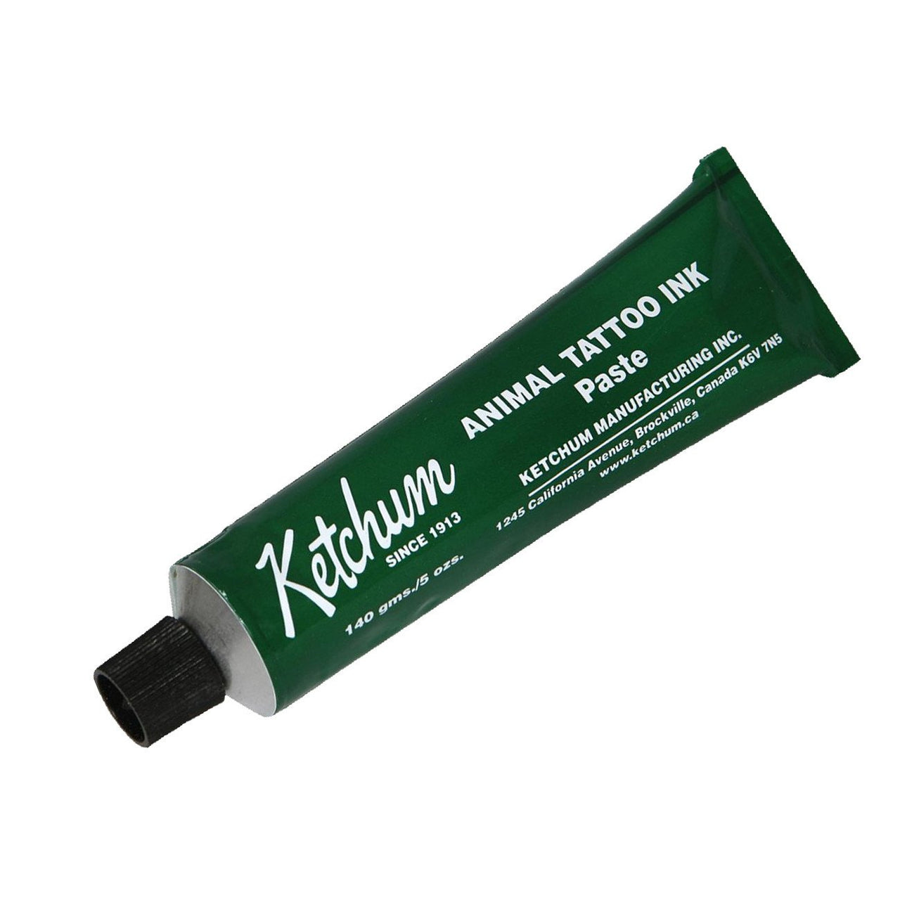 Ketchum Tattoo Green Paste 140Gm (5Oz) Tube - Animal Marking Ketchum - Canada