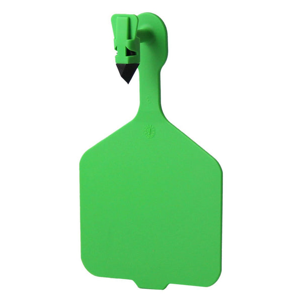 Leader 1PC Cow tags Green 25's