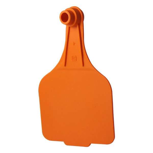 Leader Super Maxi 2Pc - Orange (25 Per Bag) - Ear Tags Leader Products - Canada