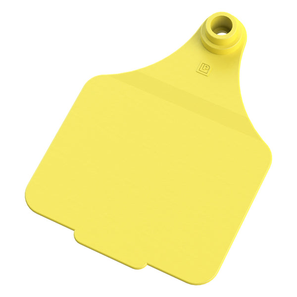 Leader Maxi 2Pc - Yellow (25 Per Bag) - Ear Tags Leader Products - Canada